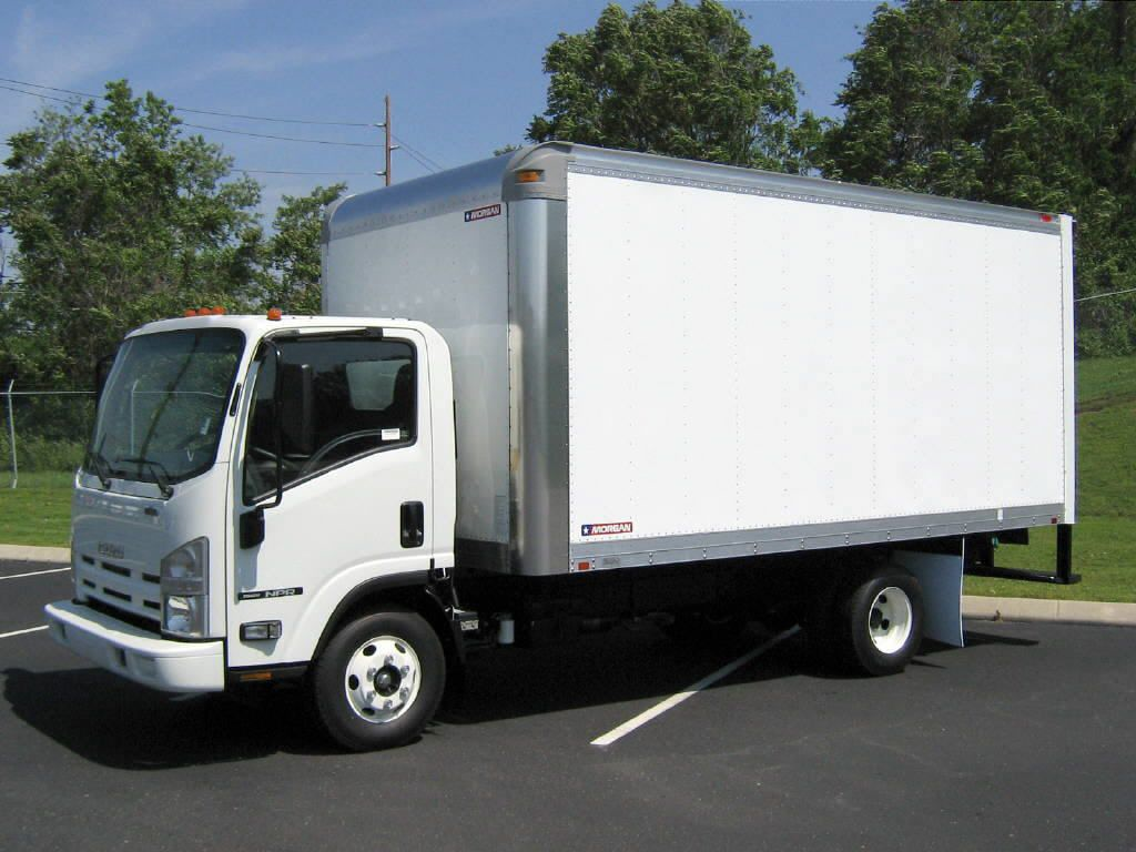 Picture of Box Truck insured by MyTruckInsurance.Online
