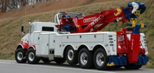 Picture of Tow truck insured by MyTruckInsurance.Online