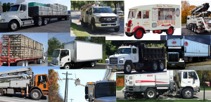 Picture of Trucks Insured by MyTruckInsurance.Online